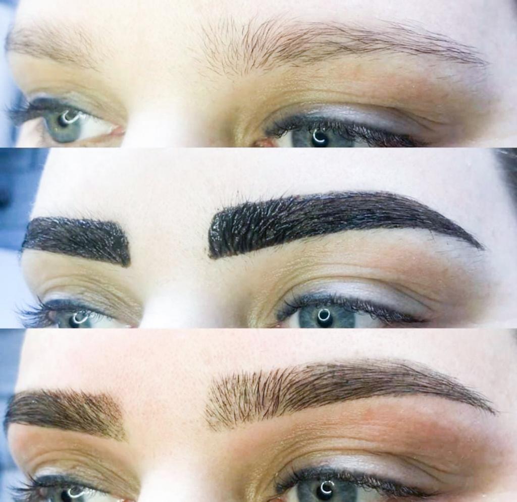 Henna Brow treatment
